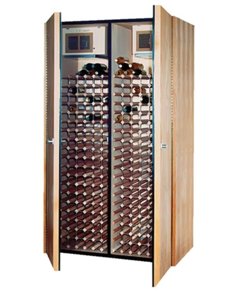600 Model Dual Zone Wine Cabinet 2 Cooling Units By Vinotemp
