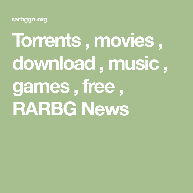 rarbg torrent movie download