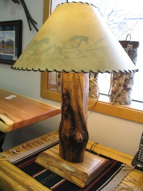 Golden Pine Table Lamp Lamp Table Lamp Pine Table