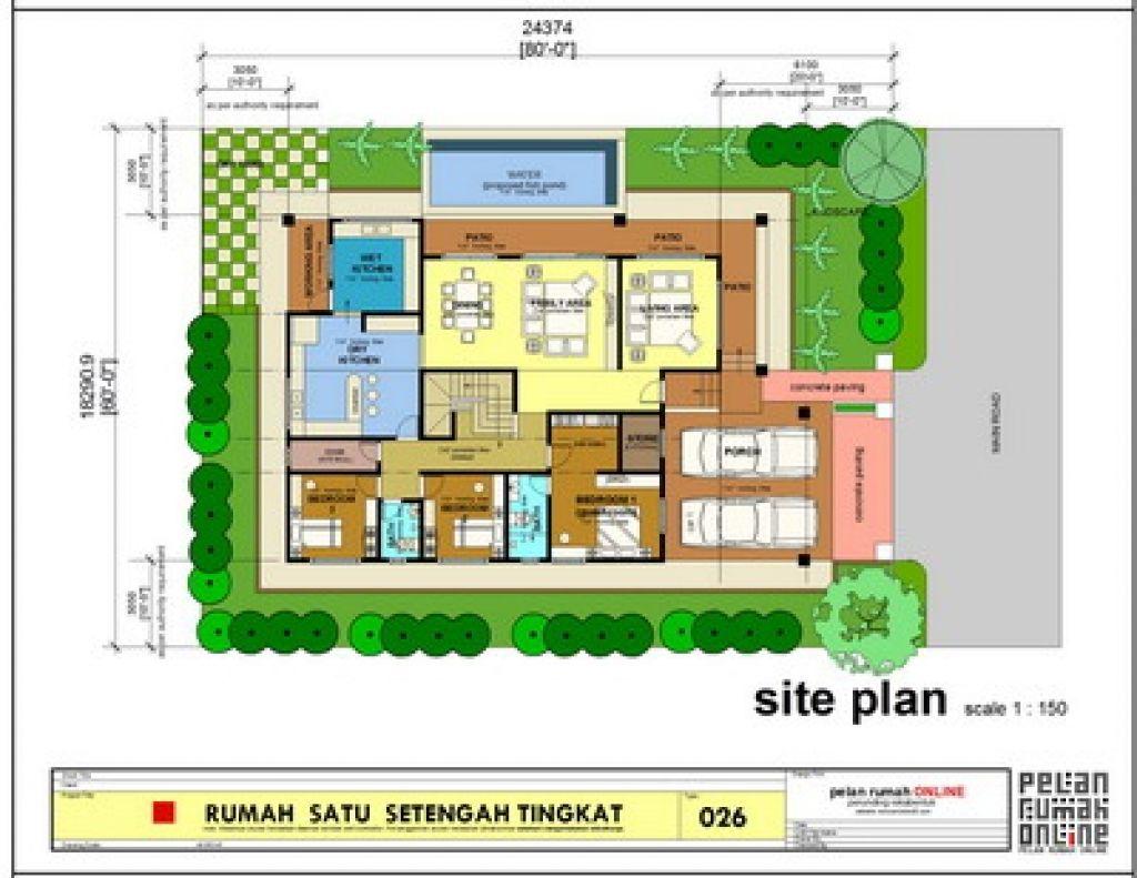 Floor Plan Rumah Banglo Setingkat