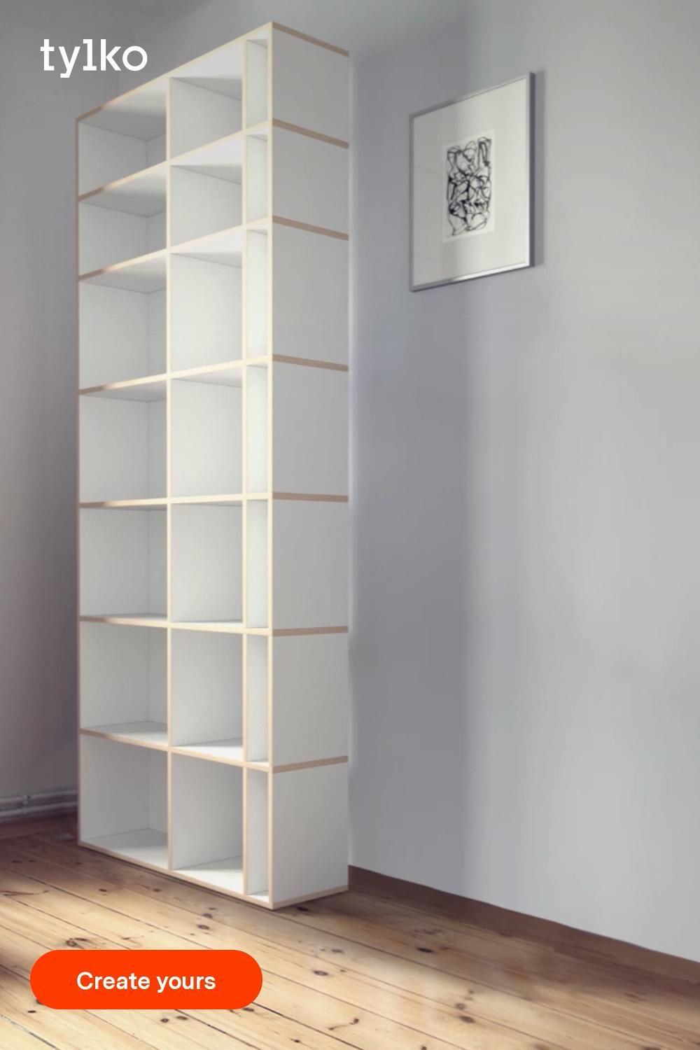 Your size. Your style. Your Shelves