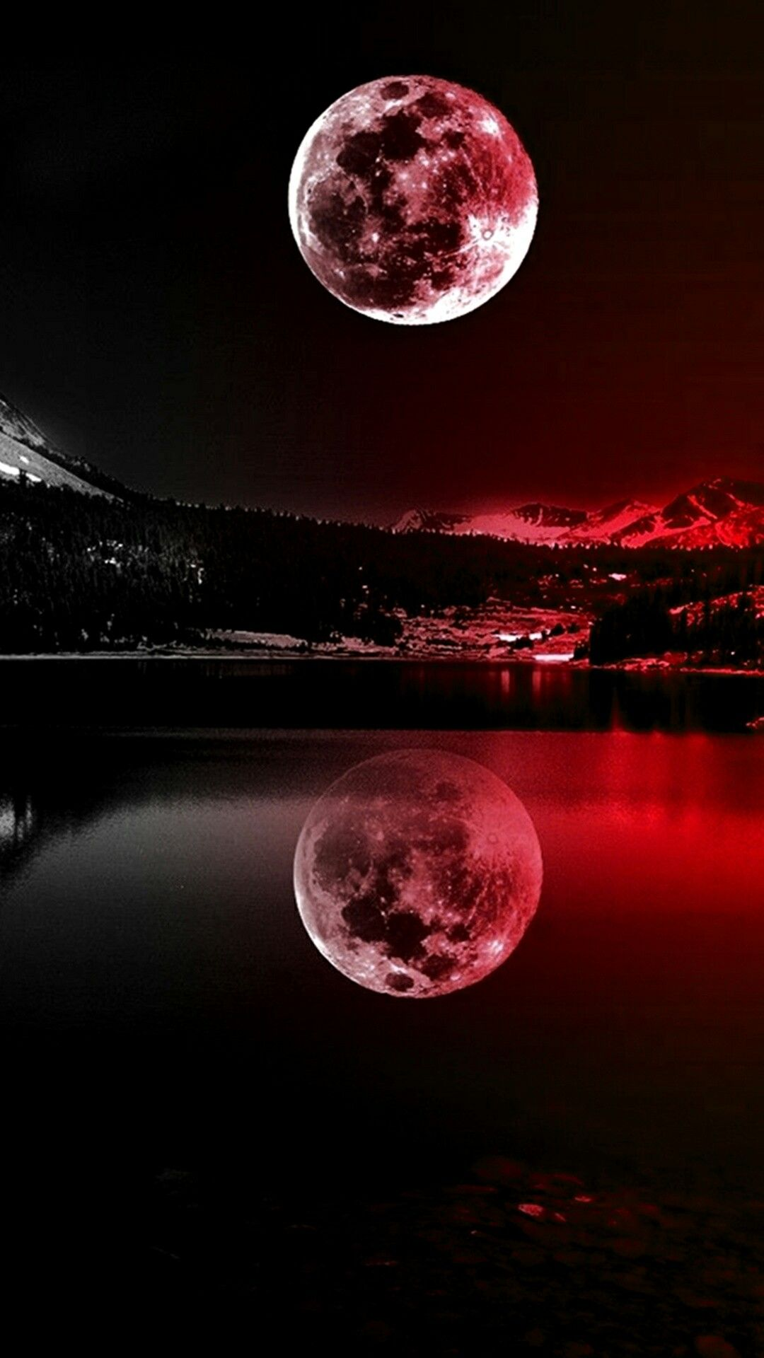 Pin by Bianca on Nature Full moon photography, Iphone