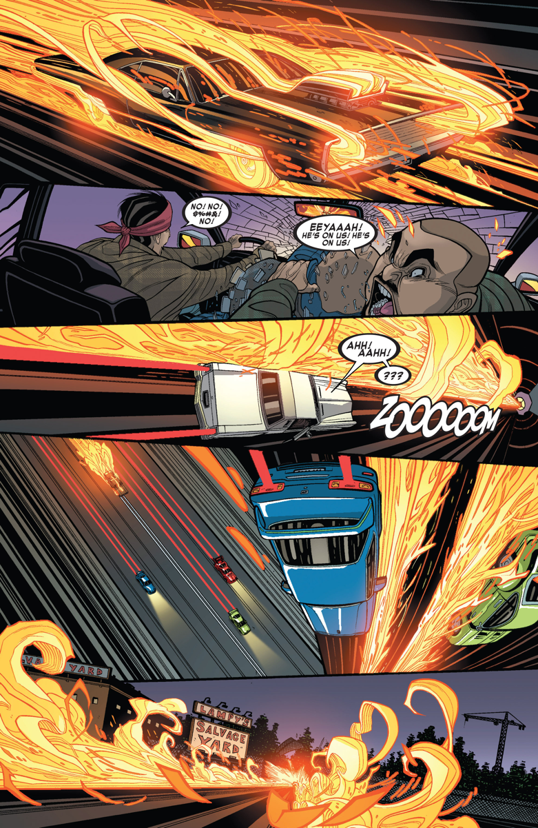 LINES LINES LINES - all new ghost rider #2, tradd moore