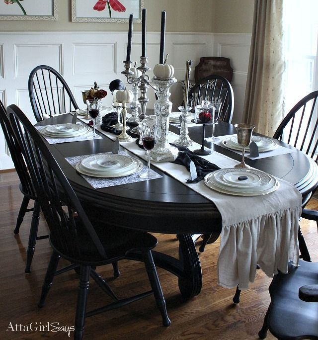 Gothic, Ghastly & Gory: Halloween Decorating Ideas | Macabre, Dining ...