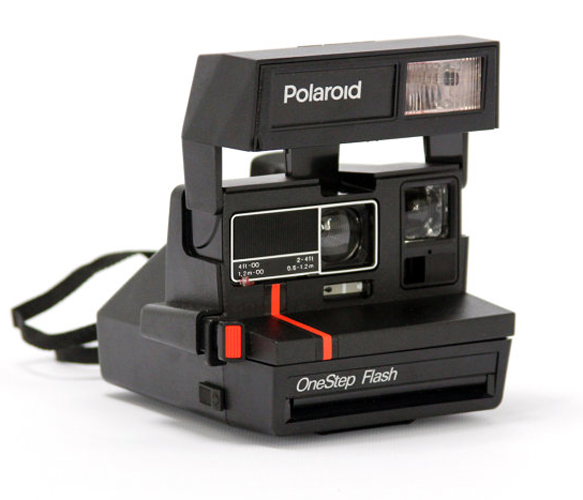 Vintage Polaroid 600 Camera Kit By Impossible Project | Polaroid ...