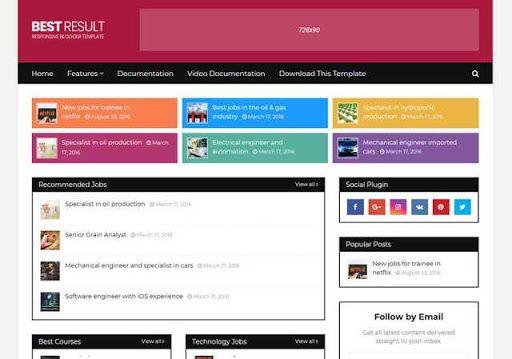 Download Soratemplates Best Result Responsive Blogger