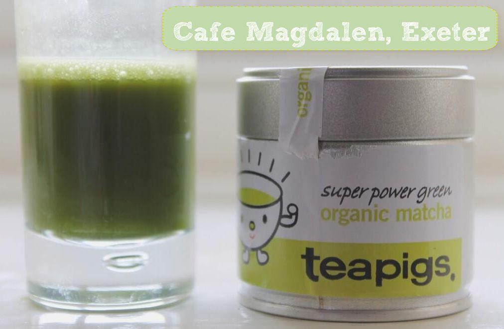 Cafe Magdalen love their matcha!