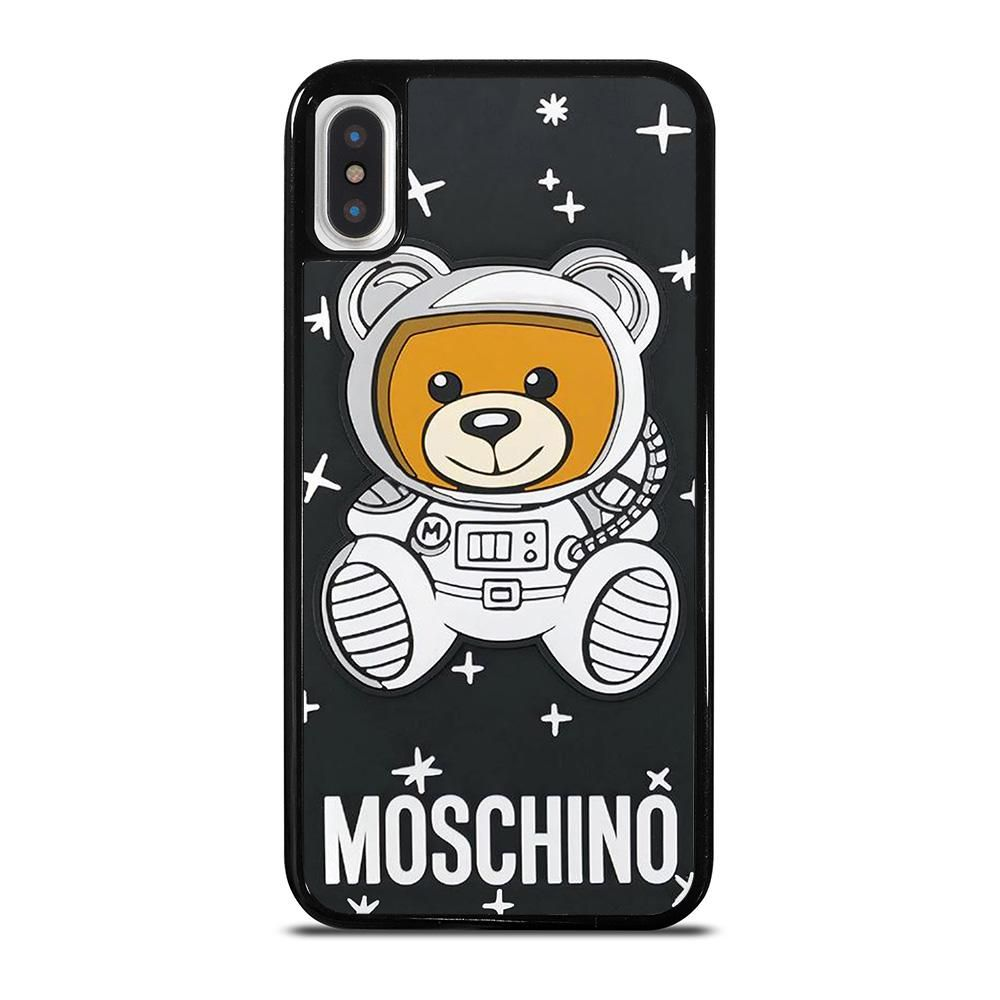 MOSCHINO BEAR ASTRONAUT iPhone X / XS Case Cover