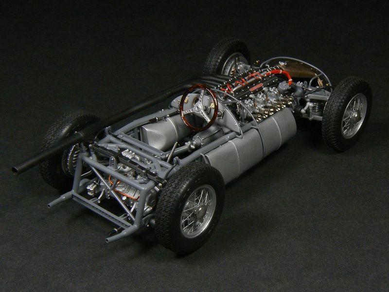 maserati 250f - gp champion 1957 1/20 scale model | automotive