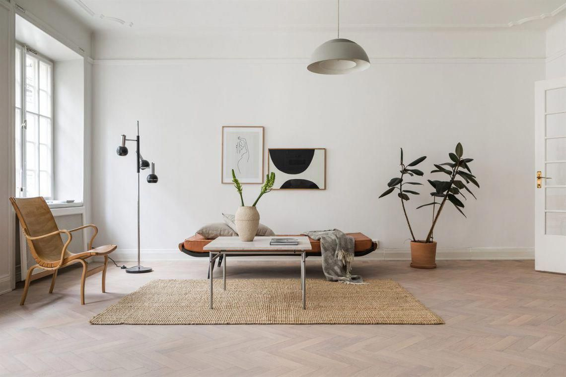 Spacious Home In Natural Colors Minimalist Home Decor