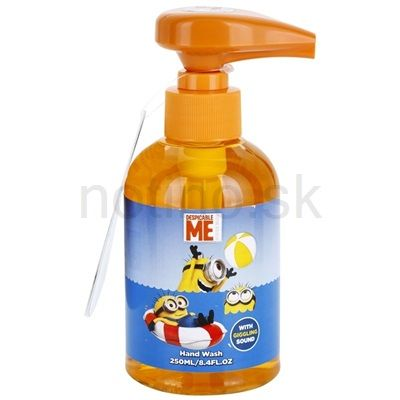 Minions Wash tekuté mydlo s hracou pumpičkou | notino.sk