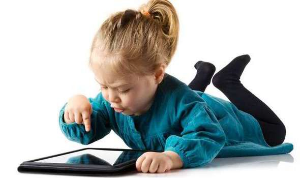 Children are taking to tablets but is it good for their