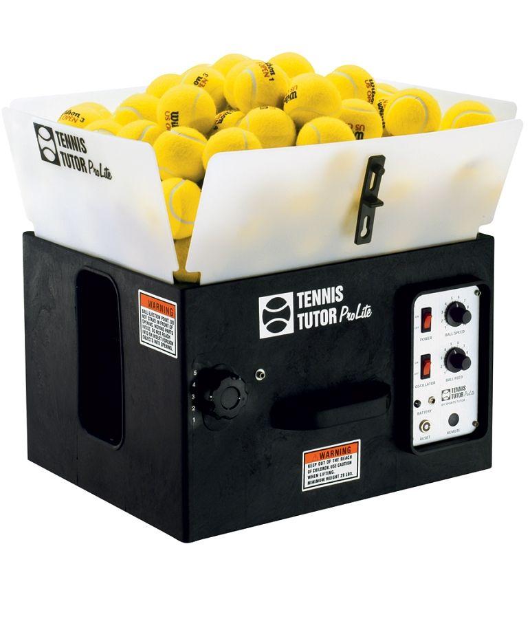 Tennis Tutor Prolite Ball Machine W Oscillator Tennis Tennis Ball Machines Tennis Ball