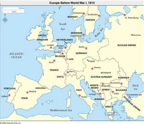 Review these maps of europe in 1914 before the war and 1919 after review these maps of europe in 1914 before the war and 1919 after gumiabroncs Gallery