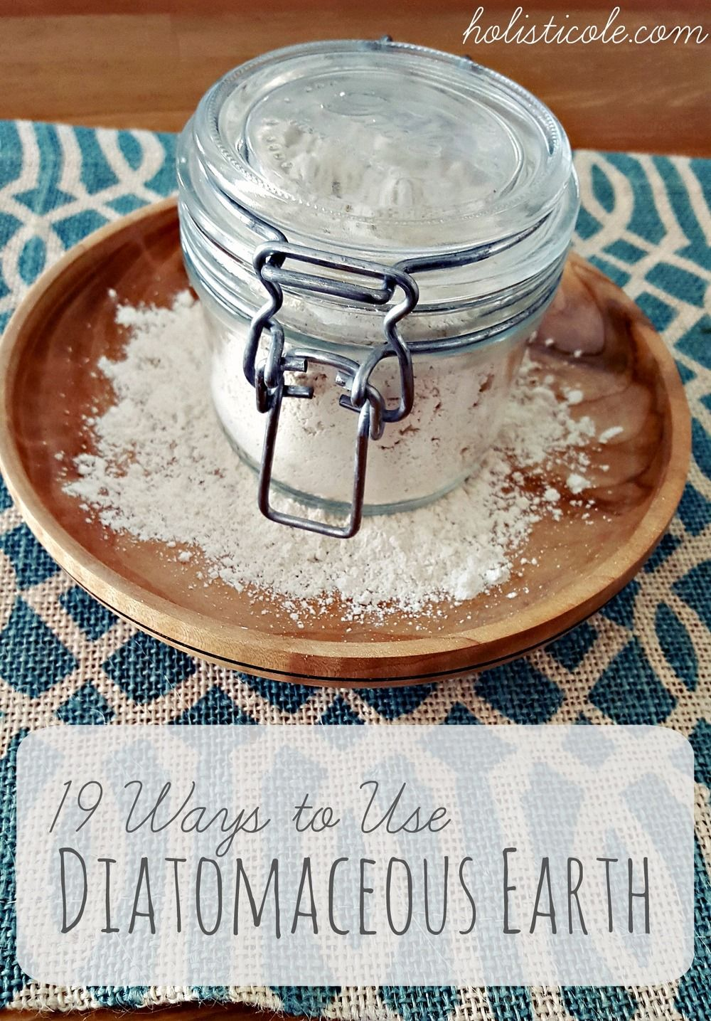 13 Ways to Use Diatomaceous Earth Medicinal Plants