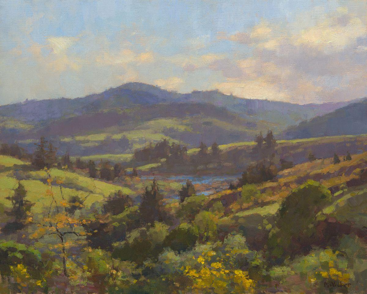 The Art Room: Spring: Jim McVicker | California Plein Air ...