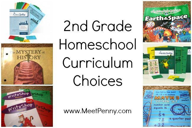 008 2nd Grade Homeschool Curriculum Homeschool curriculum