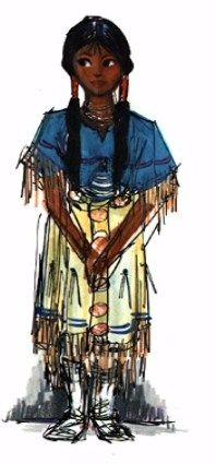 Pocahontas - concept art