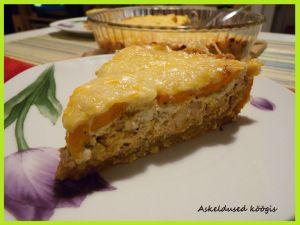 Chicken pie with parmesan