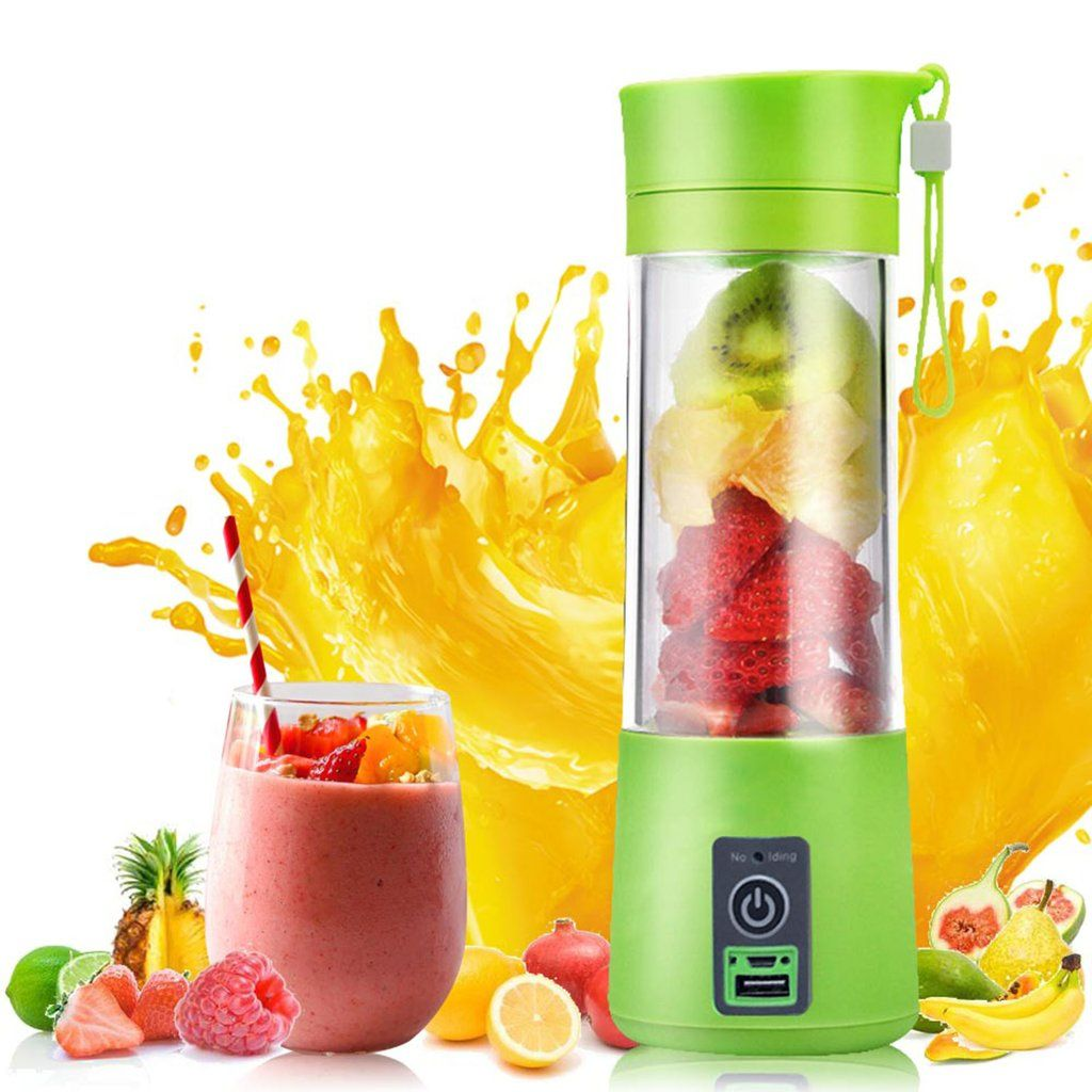 Mini Portable Smoothie Maker - do you need to make smoothies on the go, at work or school or for a dorm room? Make healthy fruit and vegetable smoothies - find even more cooking tools on MyPassionStreet by clicking on this pin. #smoothie #fruit