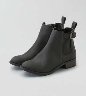 AEO Buckle Stretch Bootie