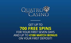 Www quatro casino con spins free