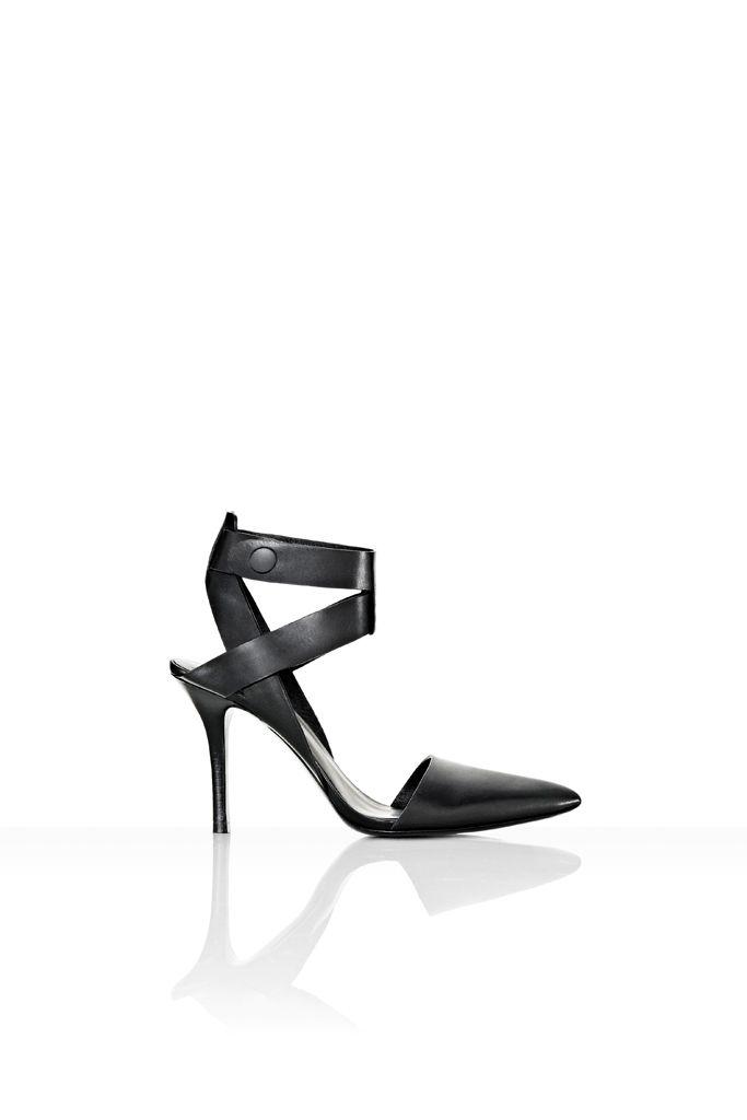 fall 2012, Alexander Wang, shoes, mid-heels, black