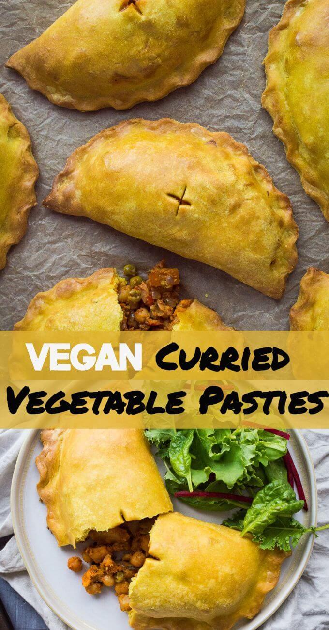Photo of Currygemüsepasteten (vegan) – Hausgöttin