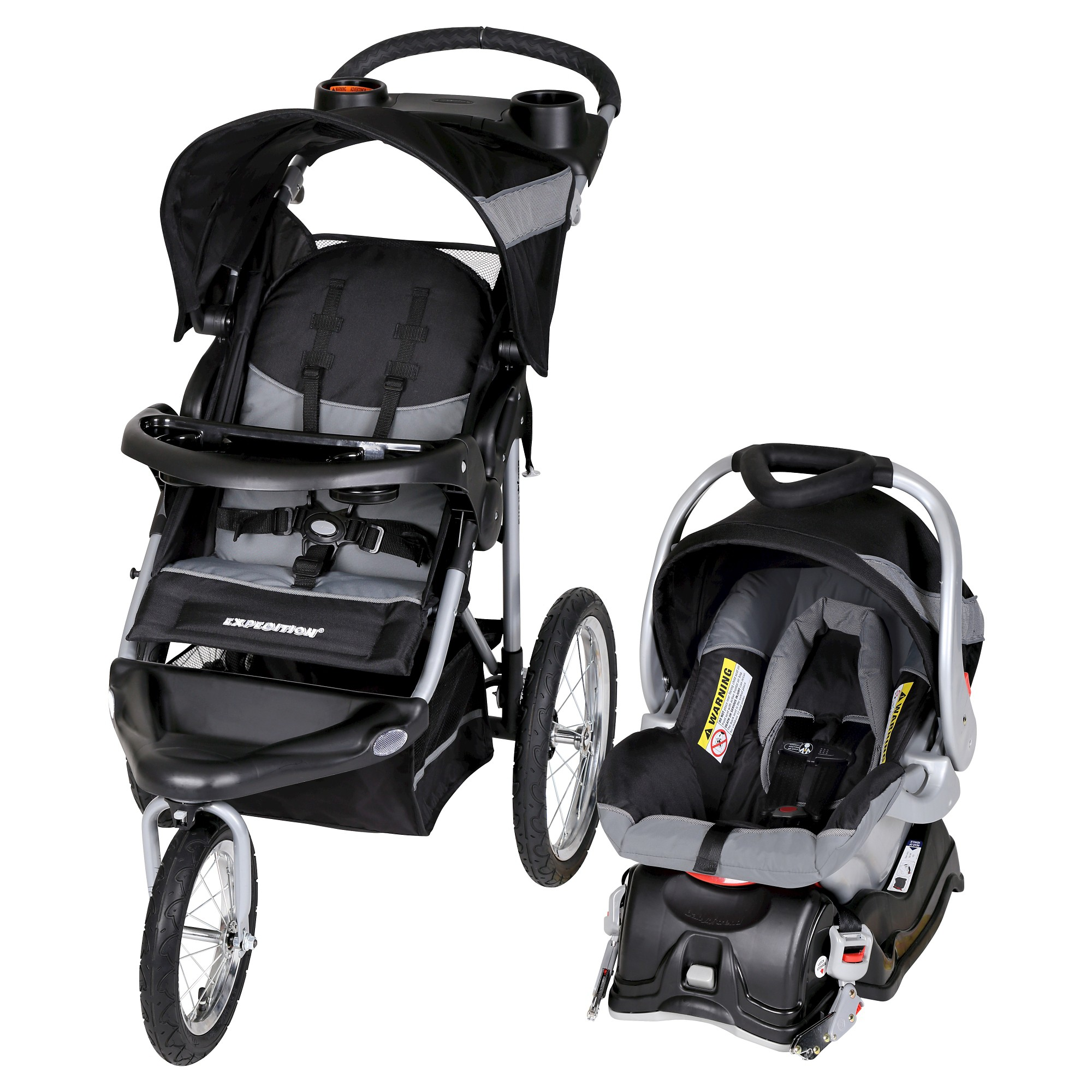 Baby Trend Expedition Travel System Millennium White