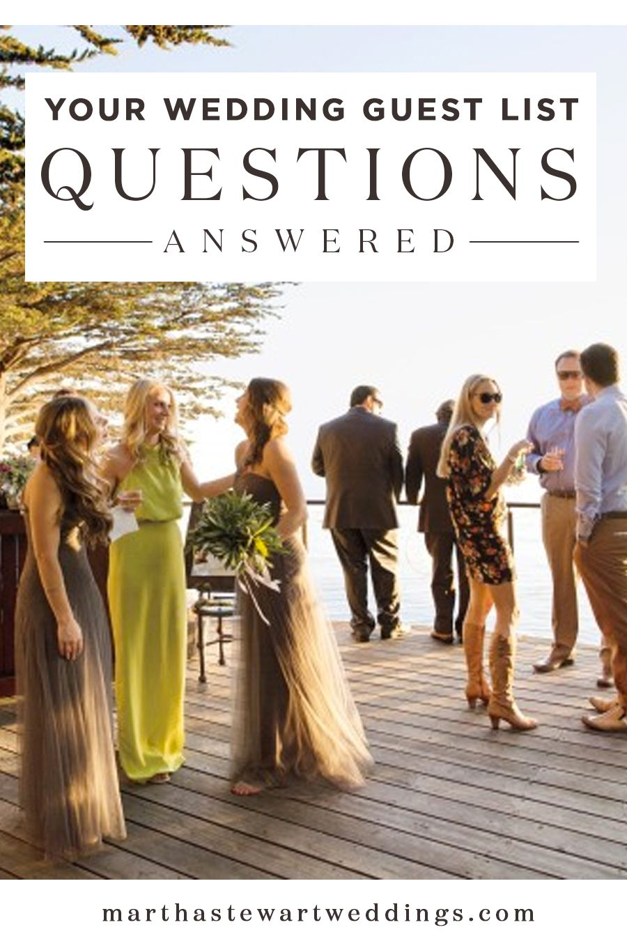Your Wedding Guest List Etiquette Questions Answered