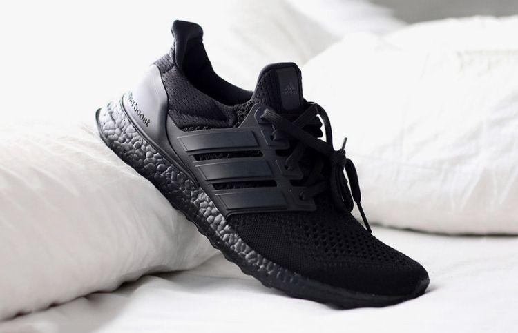 Adidas Ultra Boost Triple Black 1 0 Adidas Ultra Boost Black Sneakers Sneakers