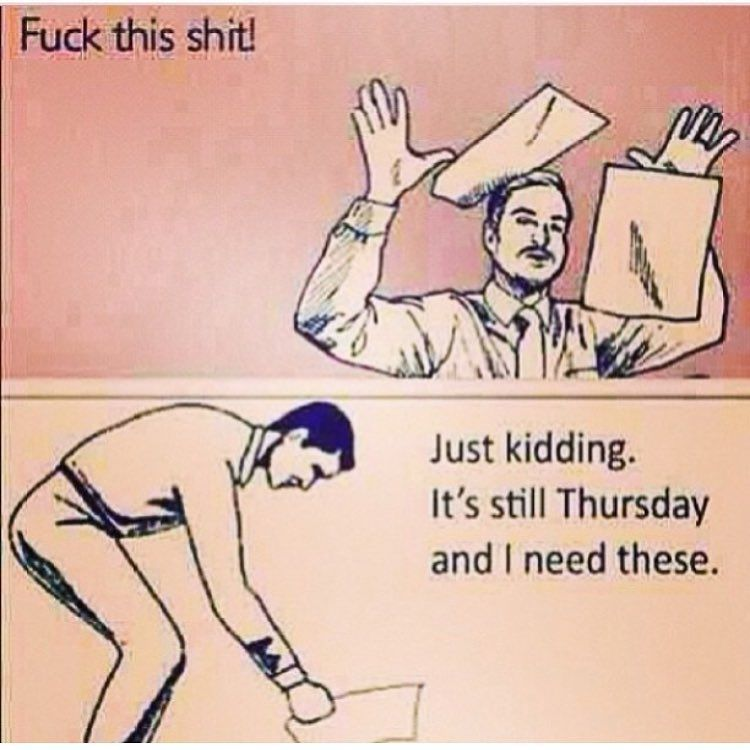 """Megan Wetta on Instagram: """"��� Some office humor for you on this Thursday morning (pardon the language). #almostfriday #officehumor"""""""