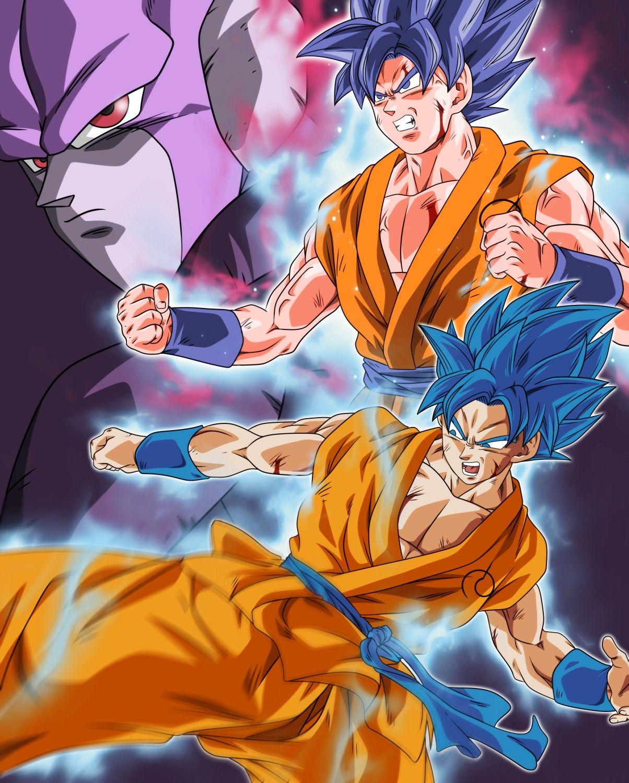 Goku Ssj Blue Kaioken Vs Hit In 2021 Anime Dragon Ball Dragon Ball Wallpapers Anime