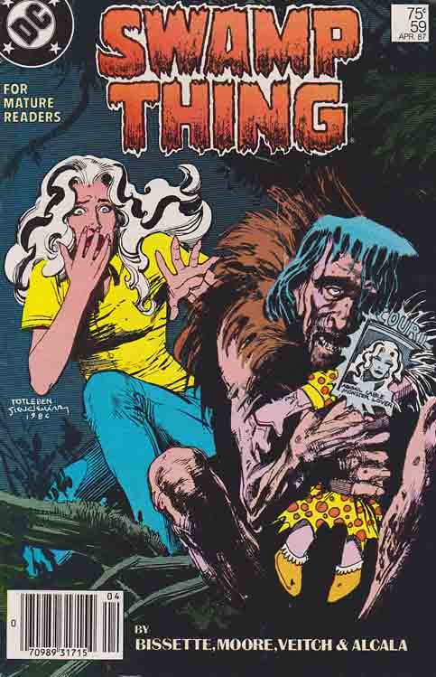 Swamp Thing #59 (1987) Steve Bissette Cover & Rick Veitch Pencils,  Alan Moore Story #swampthing Swamp Thing #59 (1987) Steve Bissette Cover & Rick Veitch Pencils,  Alan Moore Story #swampthing