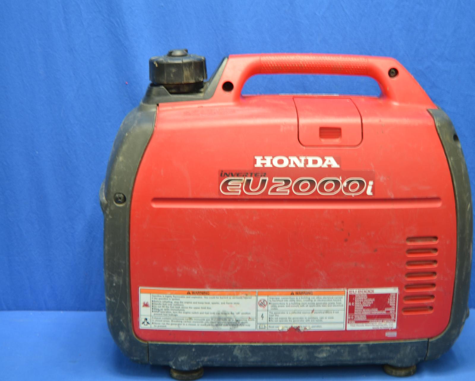 Honda EU2000i 2000 Watt 3 5 HP Inverter Generator