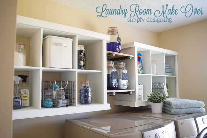 Laundry room make over laundry rooms diy shelving and laundry laundry room make over solutioingenieria Image collections