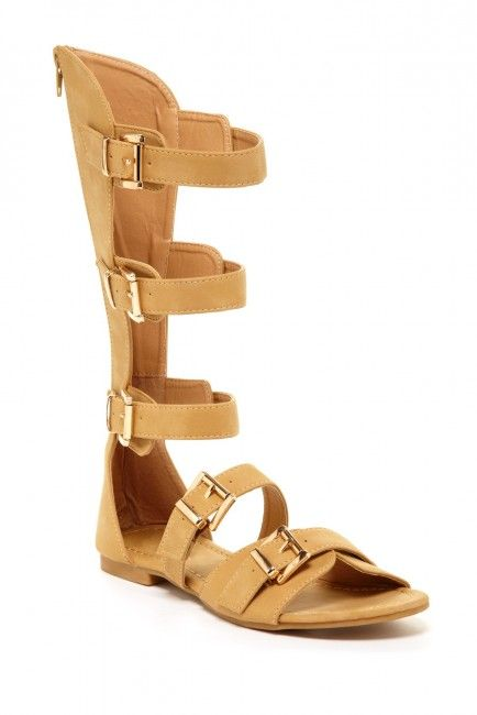 Bucco Melva Gladiator Sandal I really like these because they could be worn with shorts and or short skirts but my fear is all the hoods would have them.