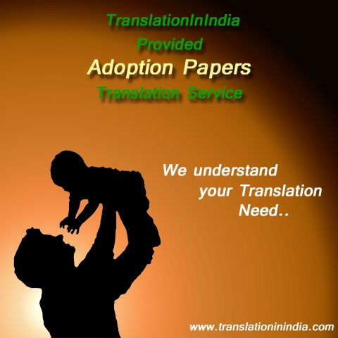 Adoption Certificate Translation Service Translation In India is a - best of marriage certificate translation from spanish to english sample