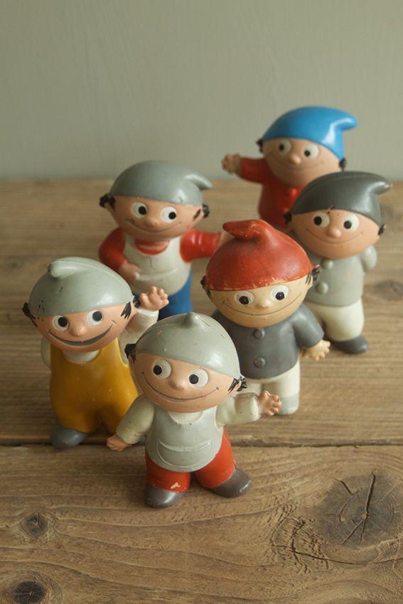 Mainzelmännchen, famous TV-character in Germany; Mainzelmännchen Sammelfigur #childhoodfriends