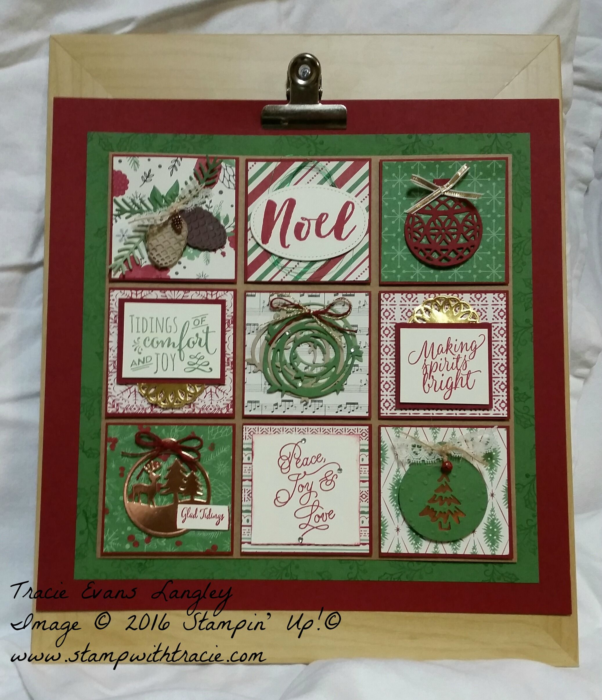 Paper Craft Crew Challenge 221 - Holiday Sampler
