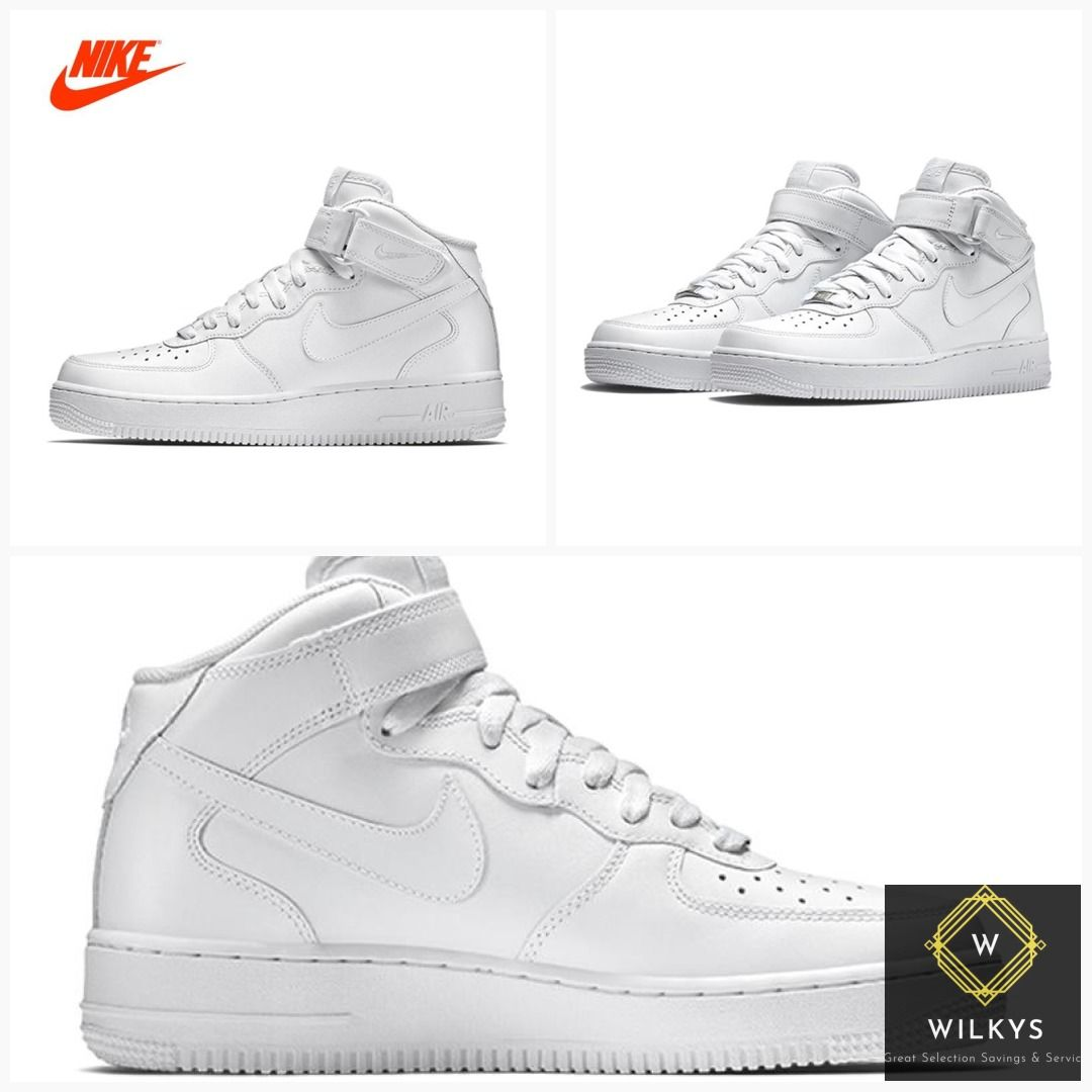 detailed look 36086 ec18f Original New Arrival Authentic Nike Air Force 1 AF1 Men s Breathable  Skateboarding Shoes Sport Outdoor Sneakers 315123-111  men  Nike  babies   garden  shoes ...