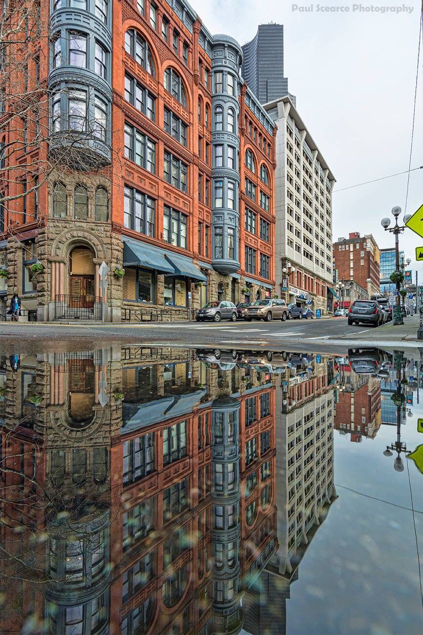 Pioneer Square Seattle Paul Scearce Photography