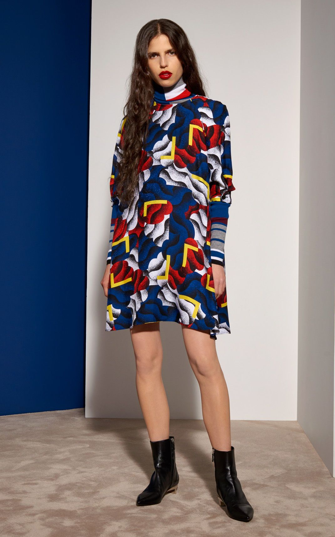 Robe Clouds and Corners Femme Kenzo   Kenzo.com   MODE   Pinterest ... acda1f0c880
