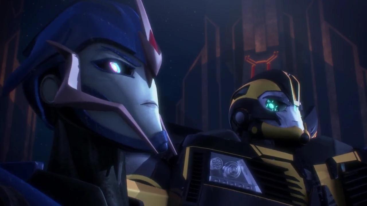transformers prime meet arcee and bumblebee