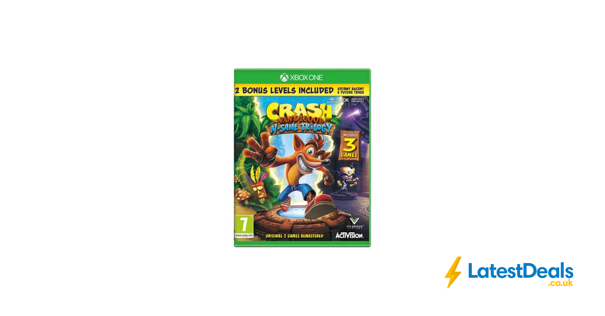 XBOX ONE Crash Bandicoot NSane Trilogy + FREE 6 Month