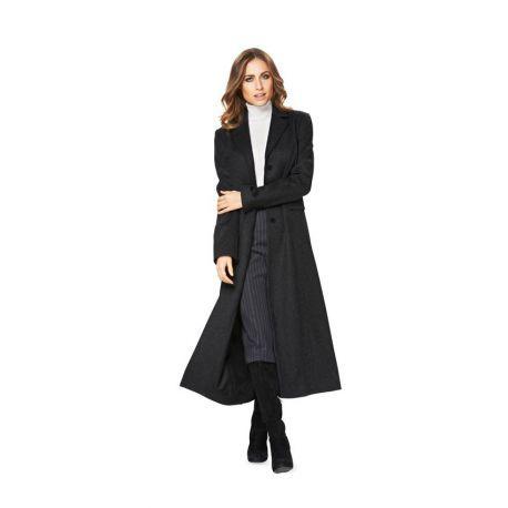Manteau noire femme manteau grand col manteau femme manteau