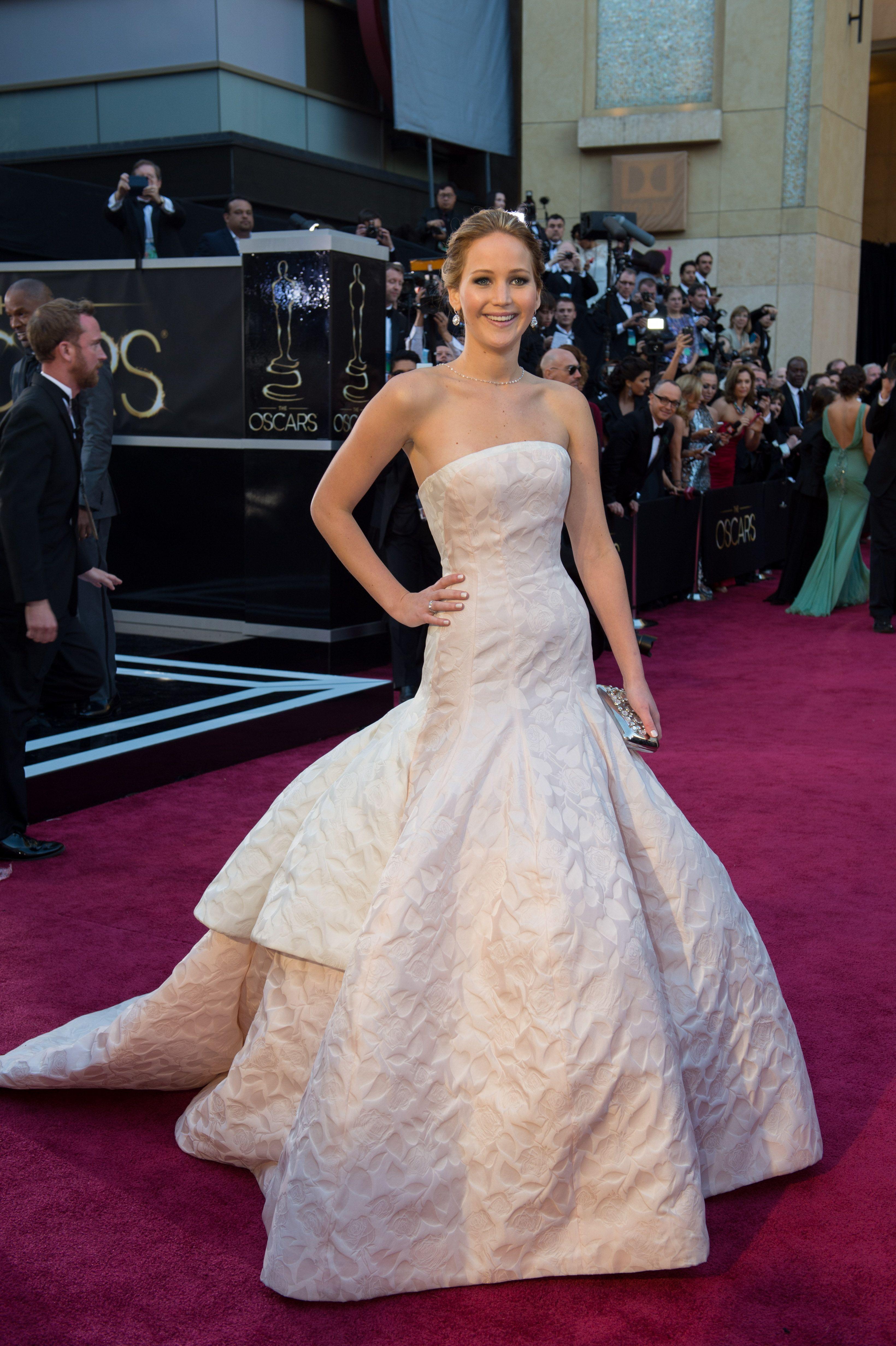 Jennifer-lawrence-2013-oscar-dress | BEST DRESSED | Pinterest