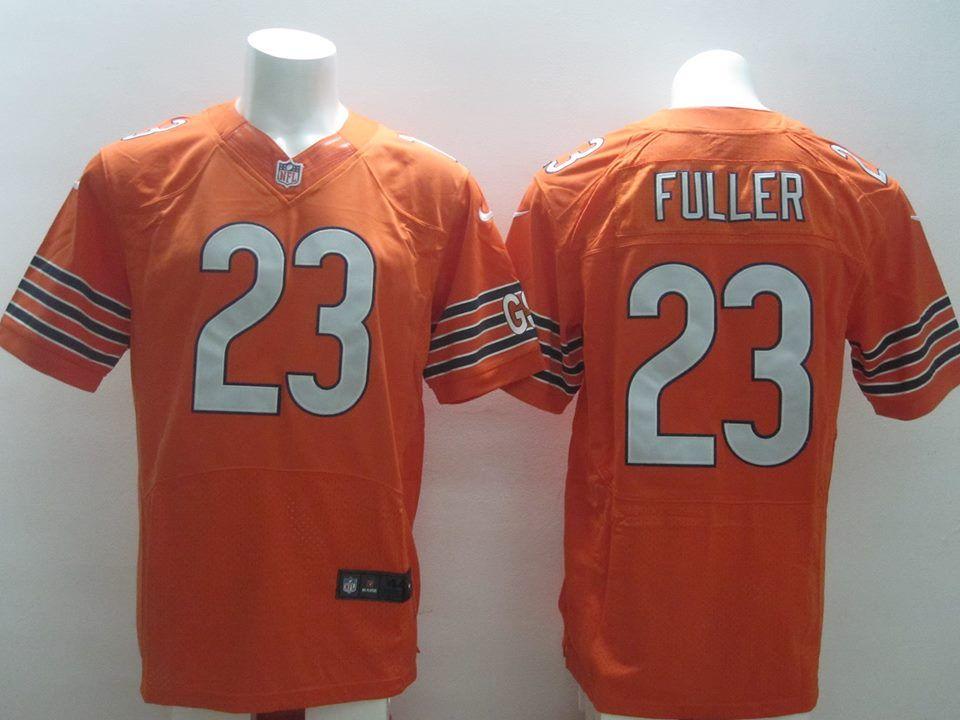 chicago bears no.23 kyle fuller orange 2014 nfl draft pick mens football