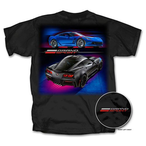 Grand Sport Tee available at Lingenfelter Performance Engineering (260) 724-2552 #Lingenfelter #Corvette #GrandSport http://www.lingenfelter.com/category/Corvette_Apparel.html