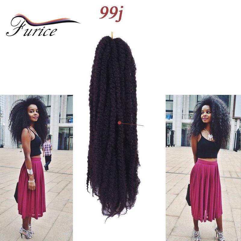 Aliexpress Buy Afro Kinky Bulk Synthetic Braids Crochet Hair